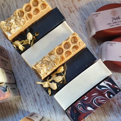 Select any 5 Artisan Soaps for $40