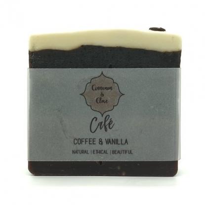 Handmade Natural Soap Bar – Cafe
