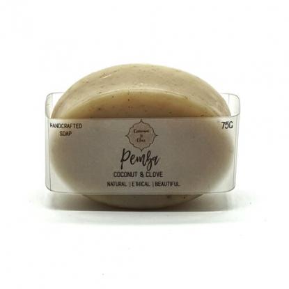 Handmade Natural Soap Bar – Pemba