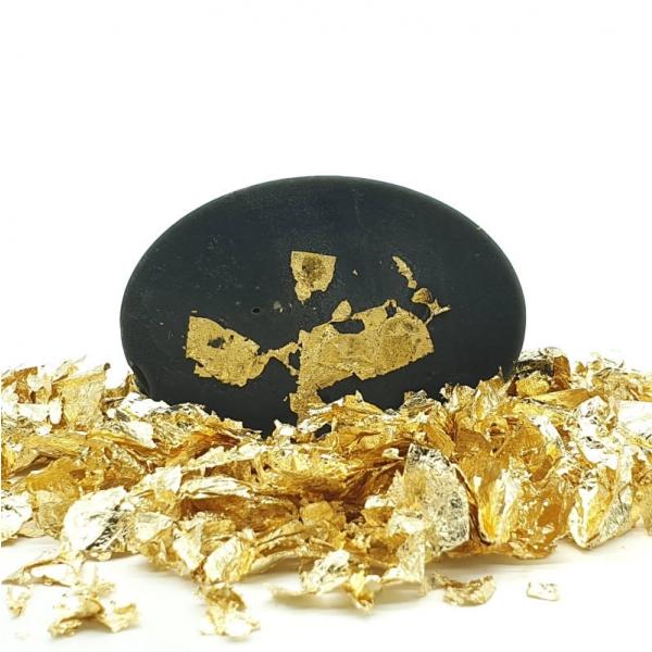Handmade Crystal Soap Bar - Tamani - gold