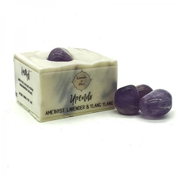 Handmade Crystal Soap Bar - Upendo