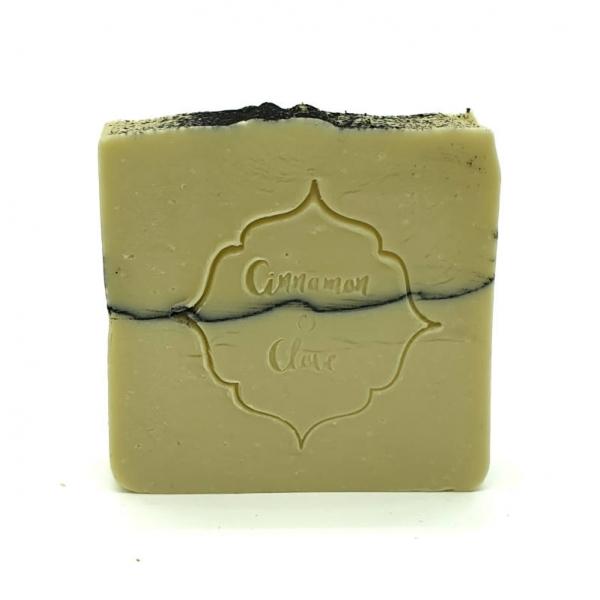 Handmade Natural Soap Bar - Jafferji - Cinnamon and Clove
