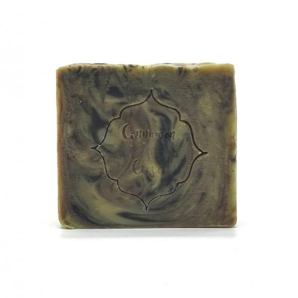 Handmade Natural Soap Bar - Jozani - logo - Cinnamon and Clove