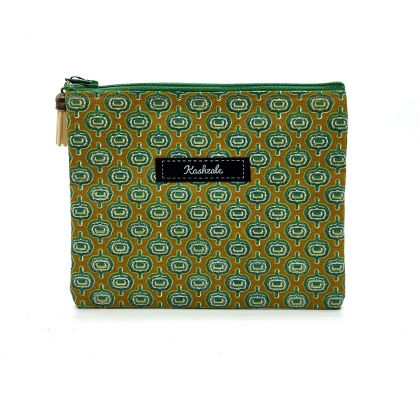 Clutch Cosmetic Bag - Madini (Mineral) - Cinnamon and Clove