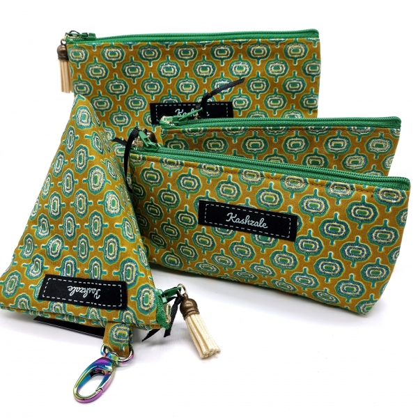 Cosmetic Bag Collection - Madini (Mineral) - Cinnamon and Clove