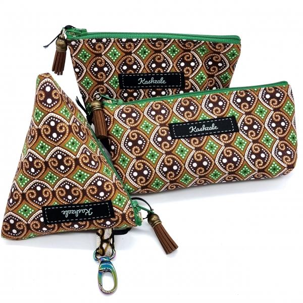Cosmetic Bag Collection - Pamoja (Together) - Cinnamon and Clove