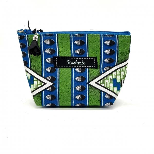 Small Cosmetic Bag - Kabila (Tribe) - Cinnamon and Clove