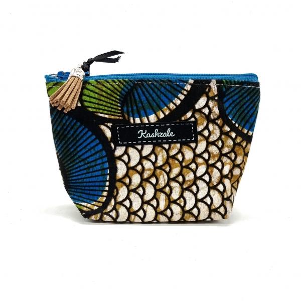 Small Cosmetic Bag - Mbegu (Seed) - Cinnamon and Clove
