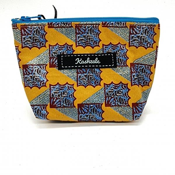 Small Cosmetic Bag - Sanaa (Art) - Cinnamon and Clove
