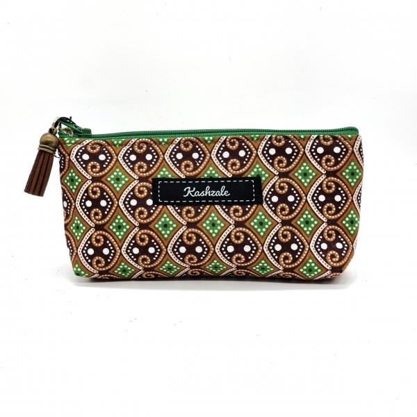 Sunglasses Cosmetic Bag - Pamoja (Together) - Cinnamon and Clove