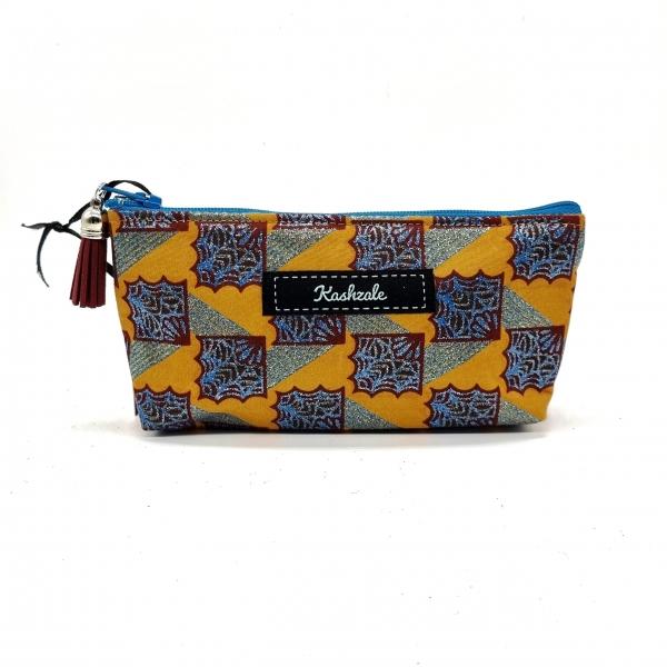 Sunglasses Cosmetic Bag - Sanaa (Art) - Cinnamon and Clove