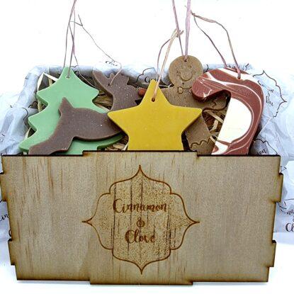 Festive Soap Ornament Gift Set – Sikukuu Box