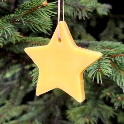 Handmade Natural Soap Ornament – Star